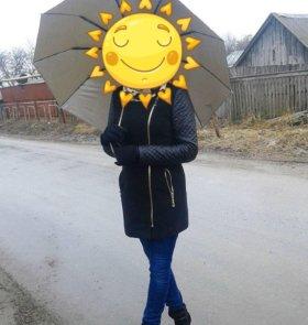 Продается пальто ОСЕНЬ 🍃🍂