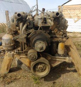 Двигатель ЯМЗ - 240 с раздельными головками