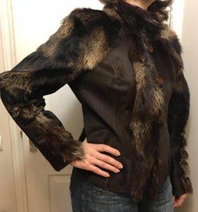 Куртка, 48р, натуральный мех
