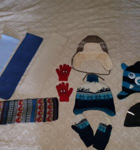 Шапки, шарфы, варежки, перчатки