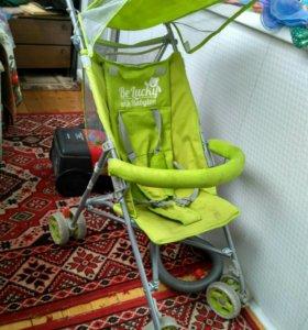 Легкая коляска трость