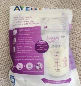 Пакеты Philips Avent для хранения грудного молока