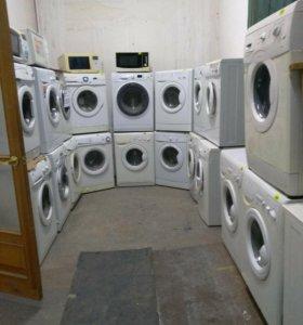 Большой выбор стиральных машин Б/У