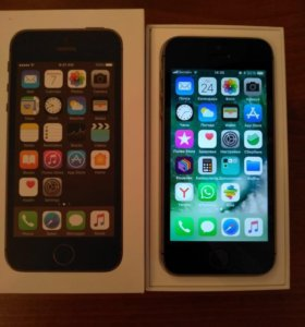iPhone 5s, Space Gray 16gb