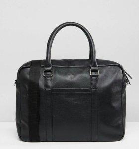 Новый кожаный мужской портфель
