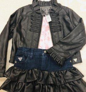 Фирменный костюм Guess кз/джинса до 5 лет