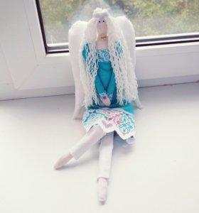 Текстильные игрушки ( куклы)