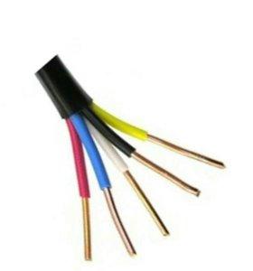 кабель ввг нг лс (а)5×6.70 метров