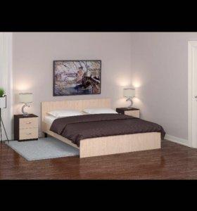 Кровати с матрасом. Новая