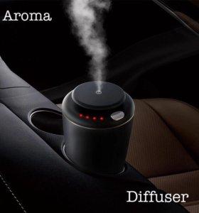Автомобильный ультразвуковой арома увлажнитель