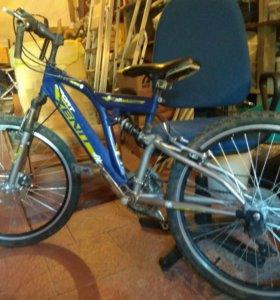 Велосипед горный обмен