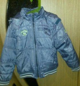 Детская осенняя куртка р116