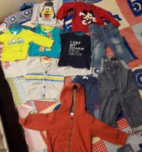 Вещи на мальчика 68-74 размеры