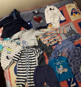 Вещи на мальчика 80-86 размеры