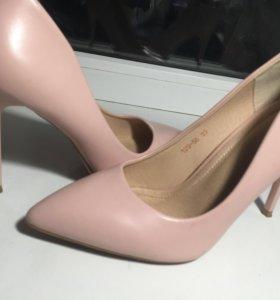 Нежно розовые лодочки