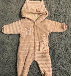 Комбинезон детский, утеплённый