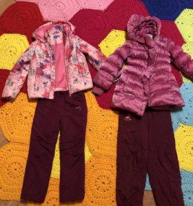 Куртка + штаны, 2 комплекта 116-122