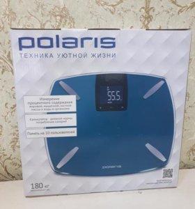 Весы напольные Polaris PWS 1850DGF Turquoise НОВЫЕ