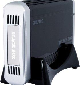 HDD 500 Гб во внешнем корпусе Chieftec CEB-35S-U3