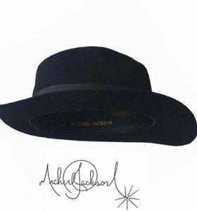 Шляпа Michael Jackson фетр новая