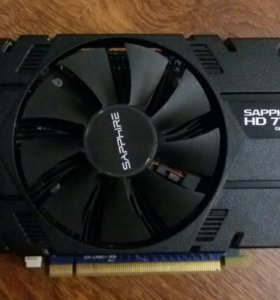Видеокарта Sapphire RADEON HD 7770 1024 Мб GDDR5