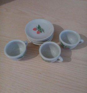 Детская фарфоровая посуда