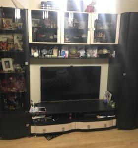 Стенка (шкафы 2,тумба под телевизор)