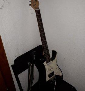 Гитара ,электро с ремешком