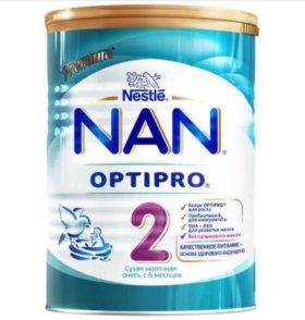 Смесь Nestle Nan OPTIPRO 2, 400 гр.