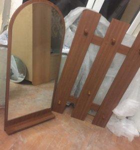 Вешалка с зеркалом