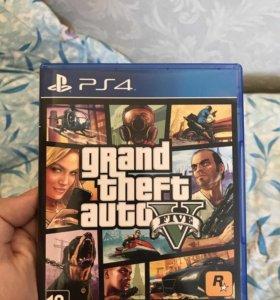 Игра PS4 GTA 5 / Grand Theft Auto V
