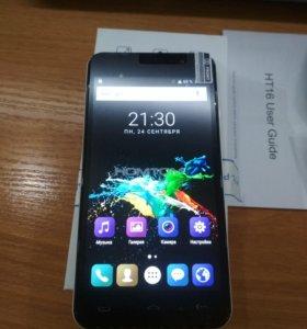 "Новый телефон 5"" Homtom HT16 4*1,3ггц 8Мп"