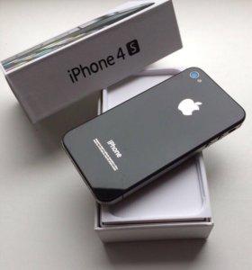 Идеальный 💯 iPhone 4s 16 GB Black