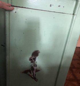 Сейф металлический насыпной огнеупорный
