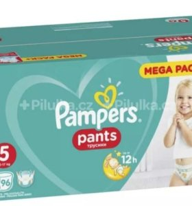 Pampers трусики Pants 5 (12-17 кг) 96 шт.