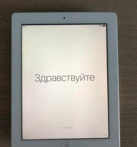 Apple iPad 3 Wi-Fi 16GB white + чехол