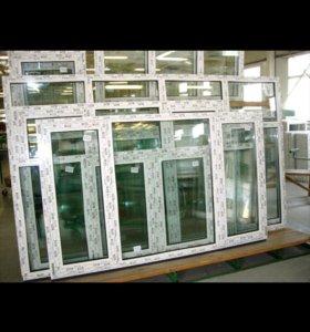 Окна со склада новые