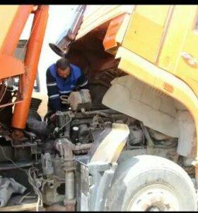 Ремонт грузовых авто и спец техники