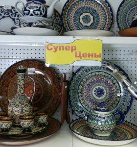 Узбекская, ручная посуда.