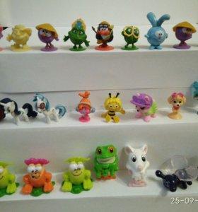 Киндер-сюрприз игрушки