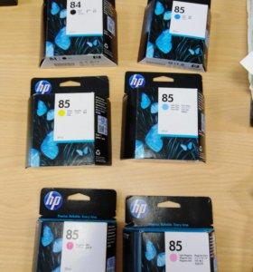Комплект оригинальных картриджей для HPDisigniet