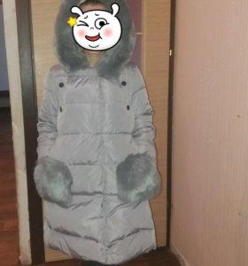 Зимний пуховик.