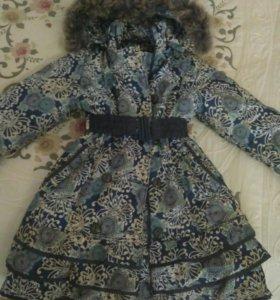 Куртка зимняя на девочку, р.146-152