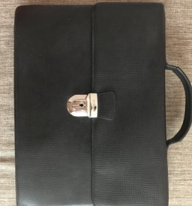 Кожаная сумка (портфель) Gillian