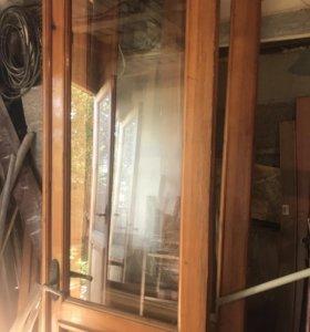 Двери деревянные с коробкой