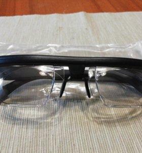 Очки с регулируемый диоптриями