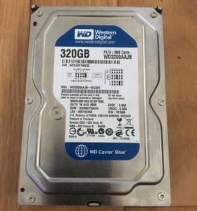 Диск 320 GB старого образца