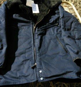 Куртка меховая летная