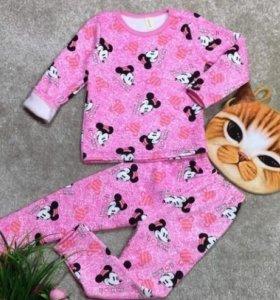 Пижама теплая 110