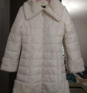 Зимняя куртка-пуховик на синтепоне